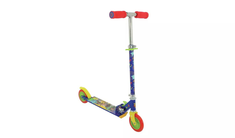 Disney Toy Story 4 Folding Inline Scooter.