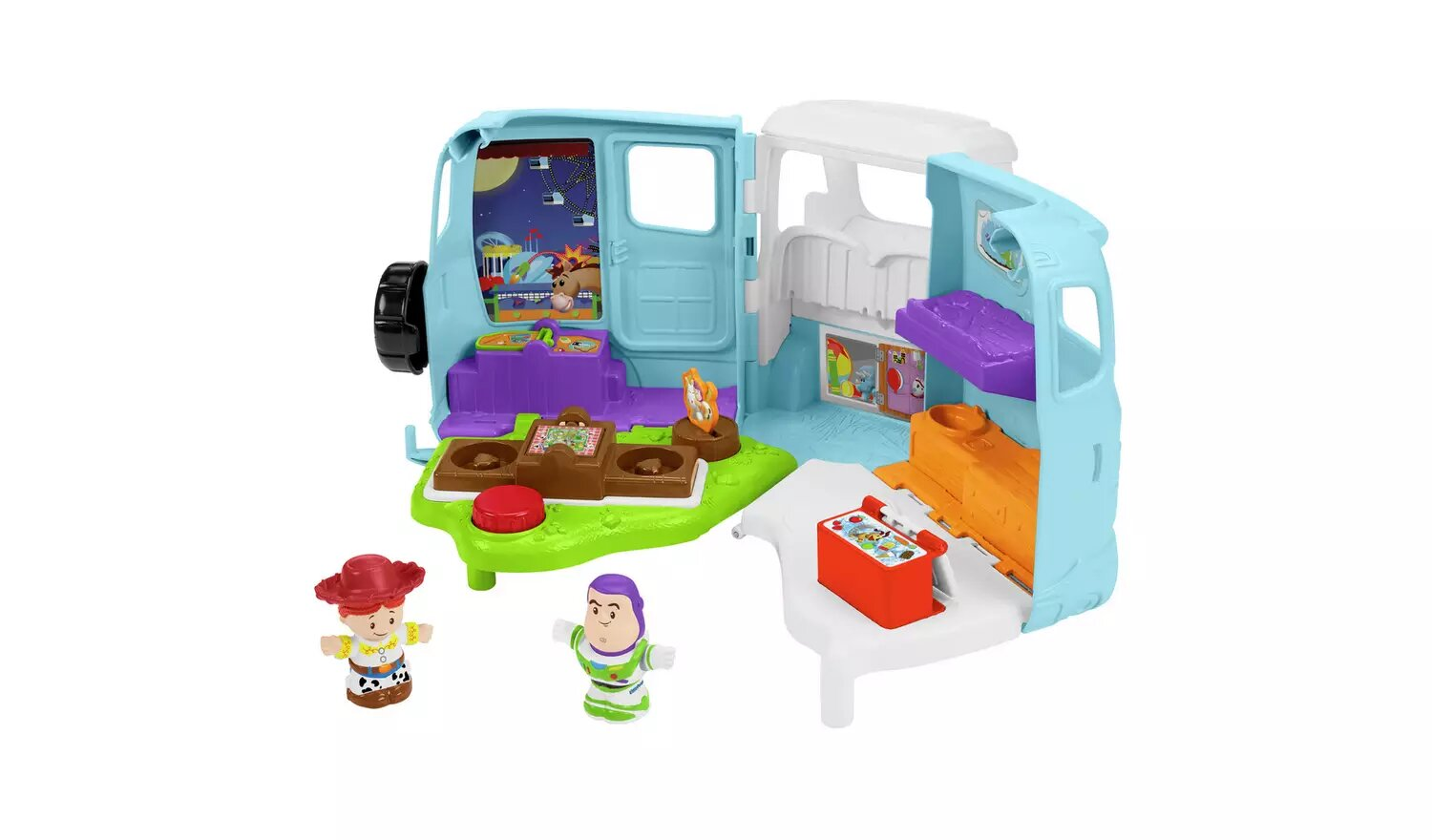 Fisher Price Little People Disney Toy Story 4 Jessie's RV.