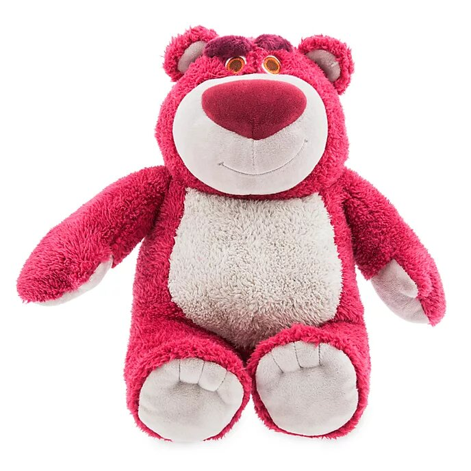 Official Disney Store Toy Story Lotso Plush.