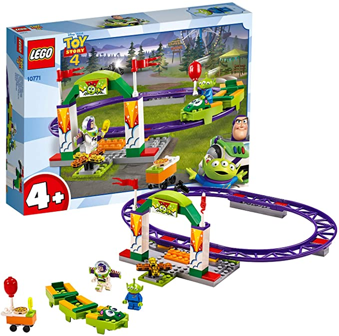 Lego Toy Story 4 Carnival Thrill Coaster.