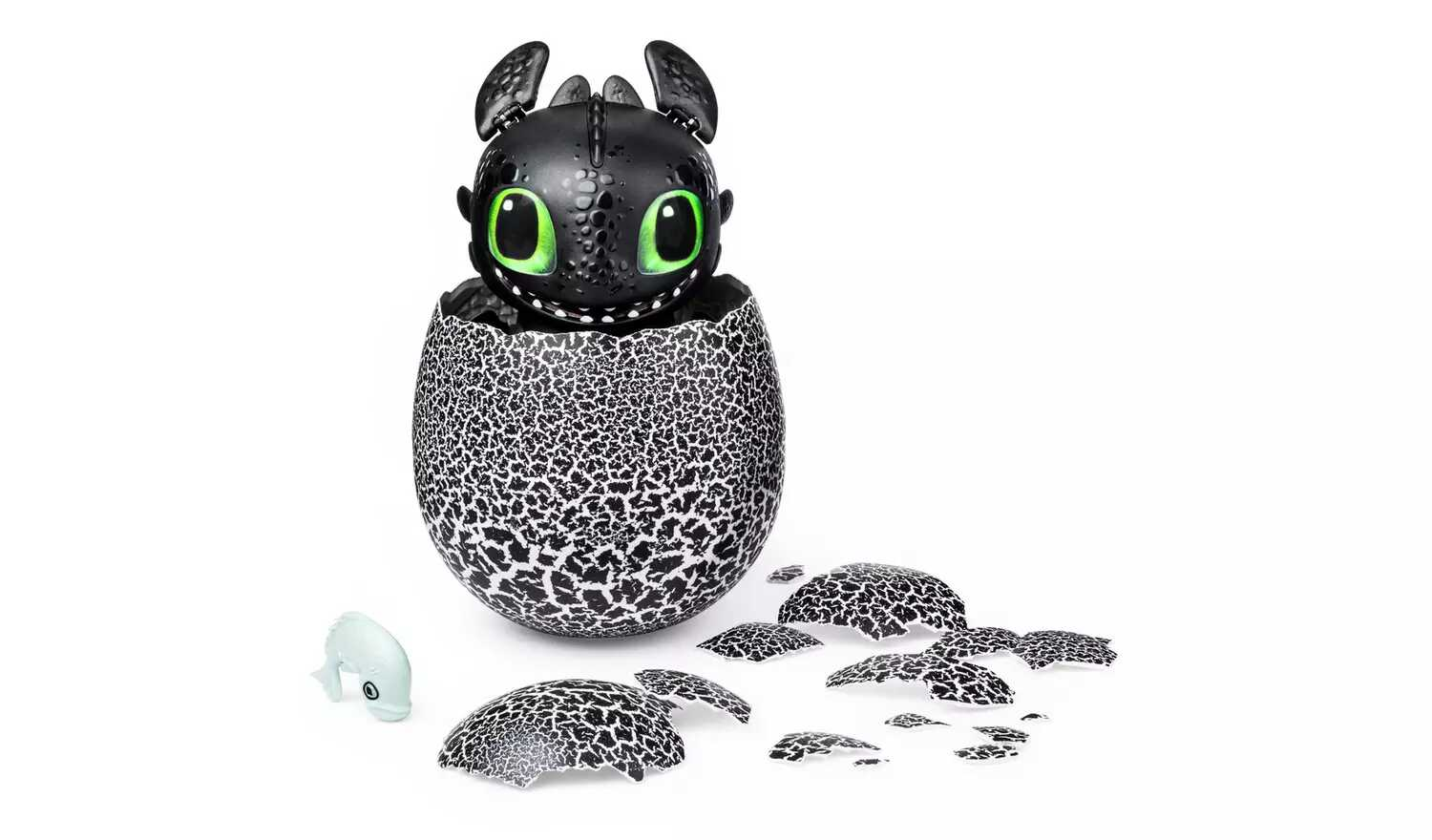 DreamWorks Interactive Hatching Toothless Dragon Egg