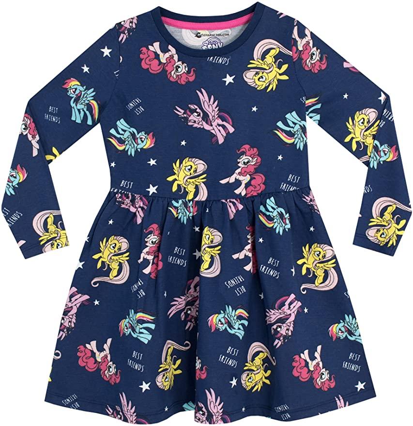 My Little Pony Girls' Unicorn Ponies Dress.