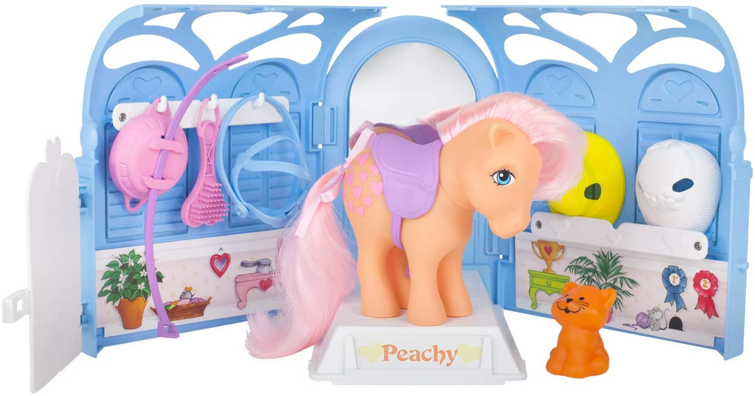 My Little Pony Pretty Parlor Playset with Peachy the Pony.