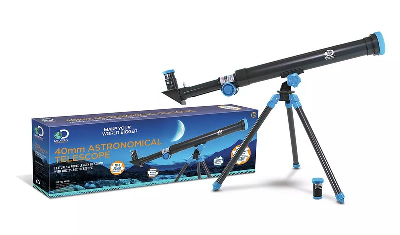 Discovery Adventures Channel 40mm Telescope.