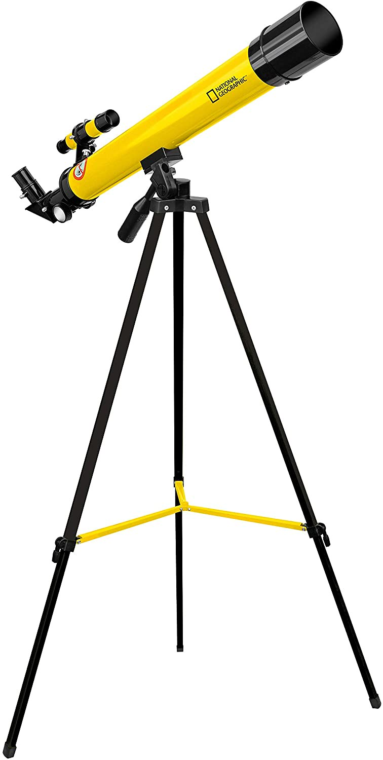 National Geographic 50/600 AZ Telescope with Mount and Tripod.