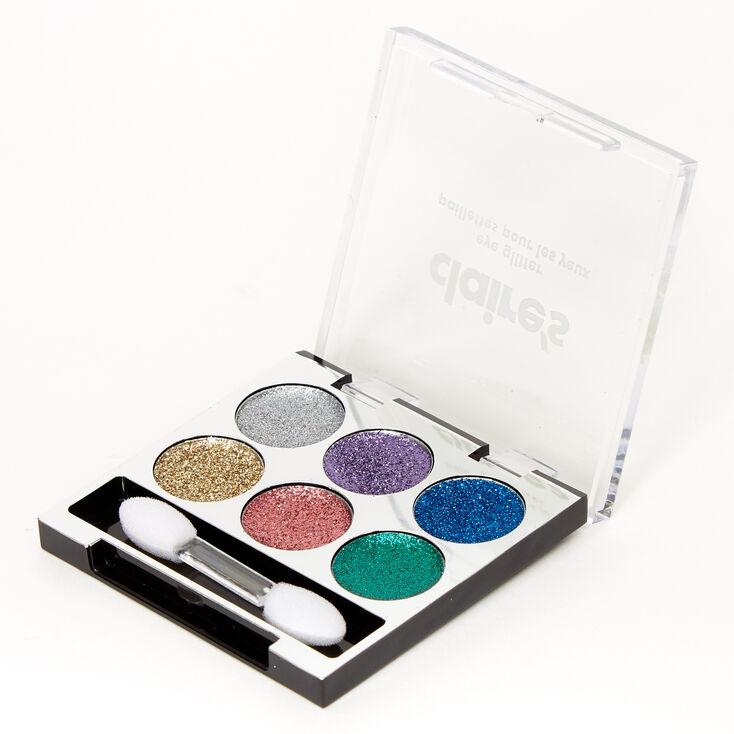 Claire's Bright Glitter Eyeshadow Palette