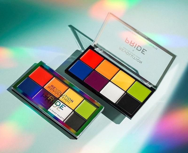Revolution X Pride Express Myself Face Paint Palette