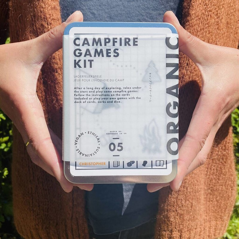 Made And Sent Personalised Campfire Games Kit