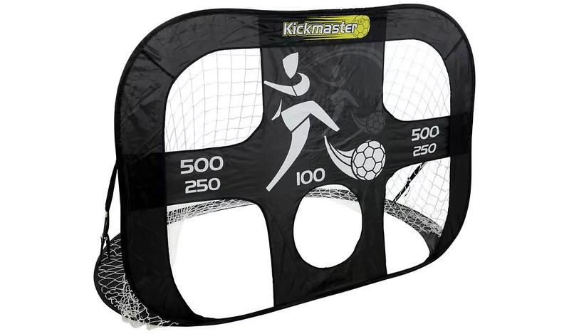 Kickmaster 6 x 4ft Quick Assembly Football Training Goal.