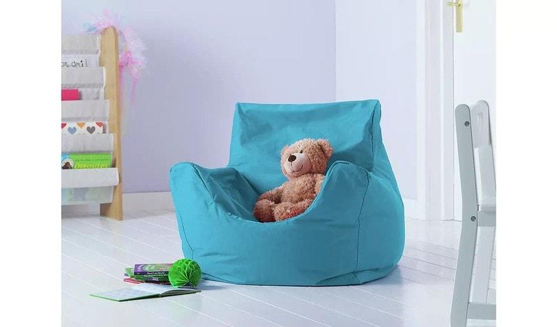 Argos Home Kids Funzee Blue Bean Bag Chair