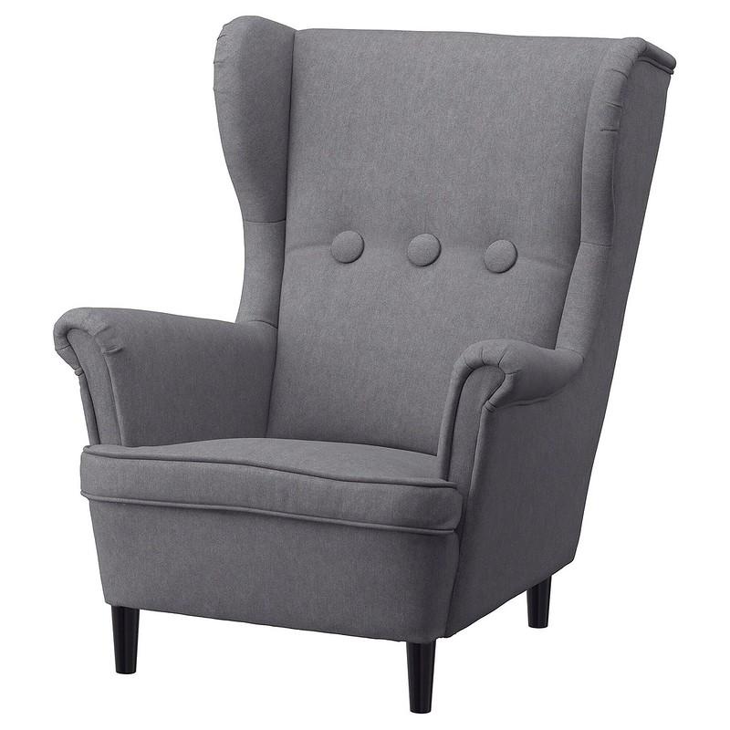 IKEA Strandmon Children's Armchair, Vissle Grey