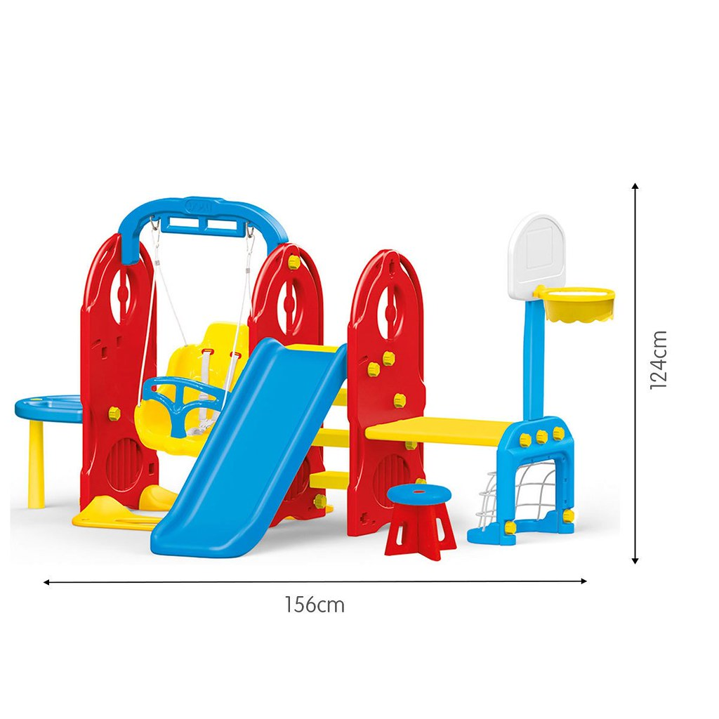 Dolu 7-In-1 Playground Frame.