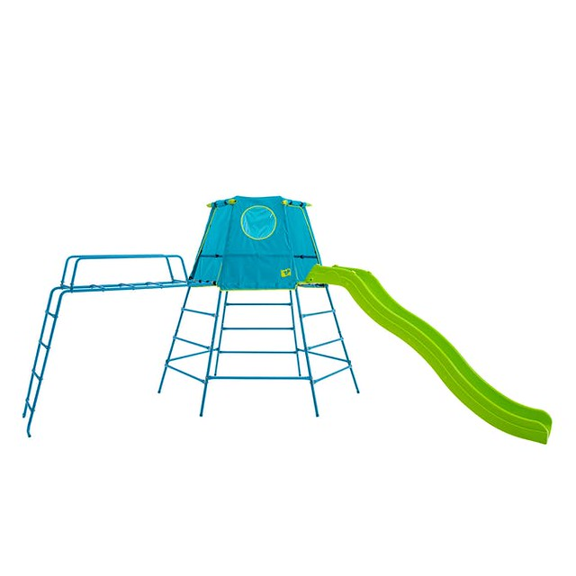 TP Toy Explorer Metal Climbing Frame Set With Slide & Jungle Run.