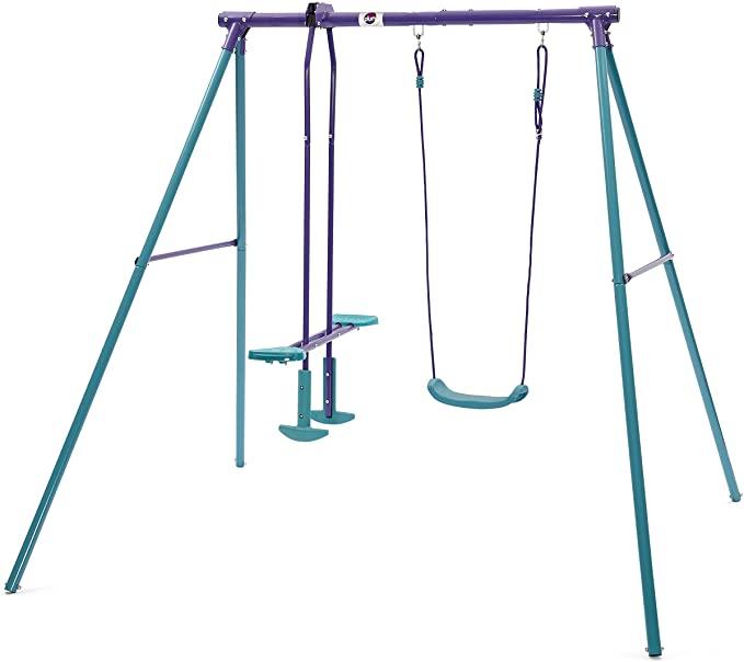 Plum Helios II Metal Garden Swing & Glider Set.