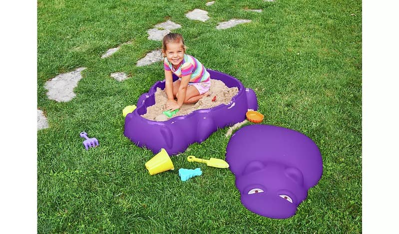 Chad Valley Hippo Sand Pit