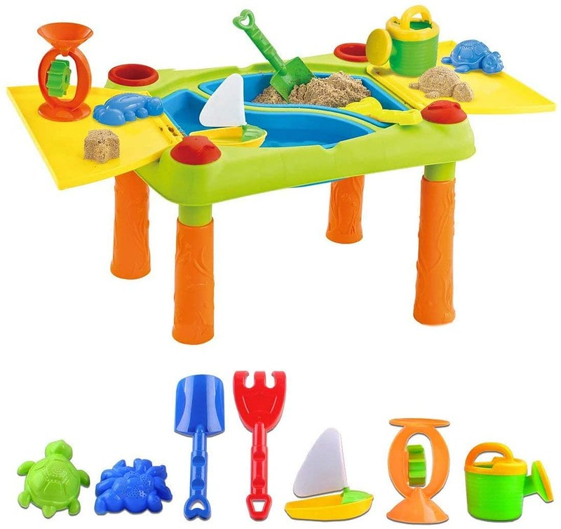 deAO Sand And Water Outdoor Activities Play Table