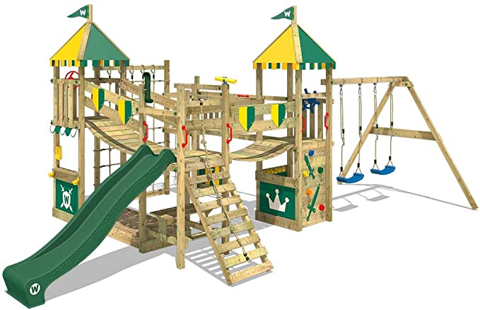 WICKEY Wooden Climbing Frame.
