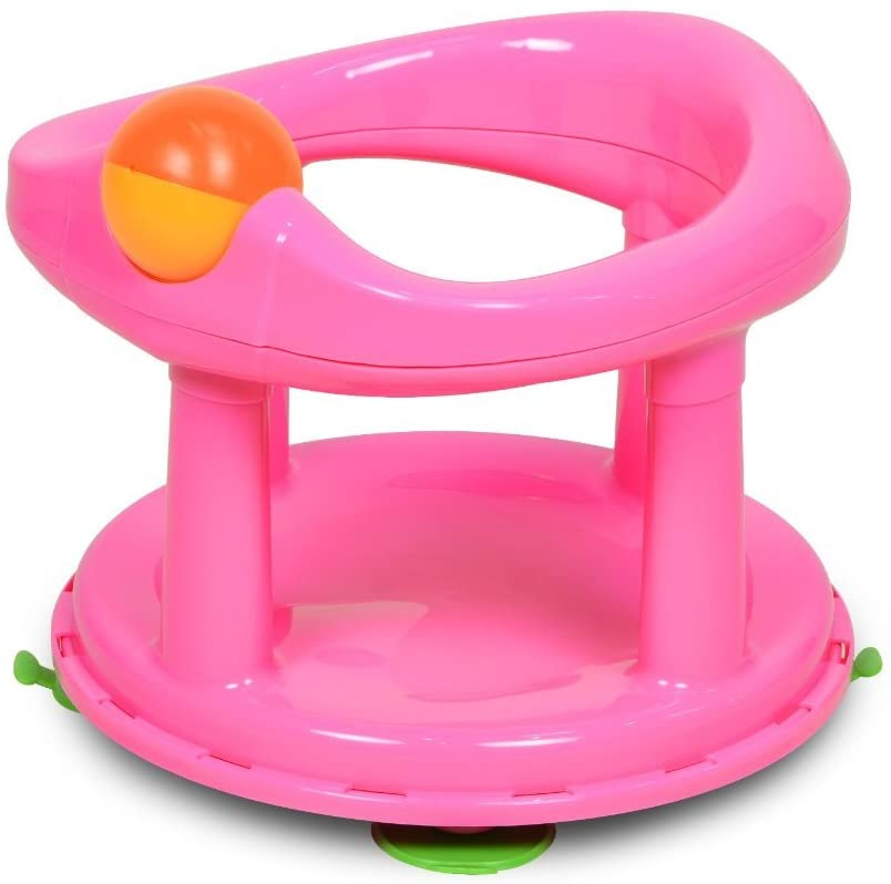 Safety 1st Pink Baby Bath Seat Swivel