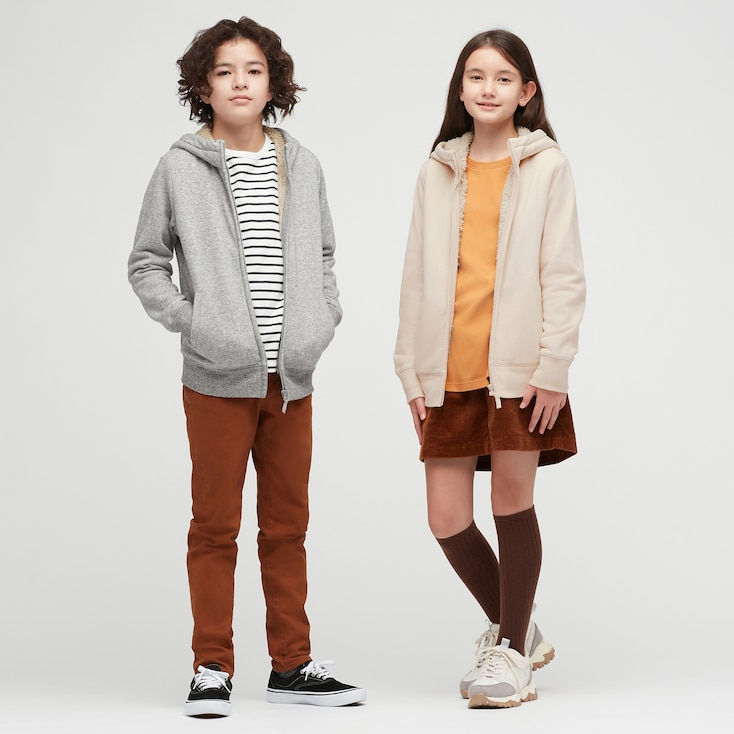 Uniqlo Kids' Fleece Lined Sweat Zipped Hoodie.