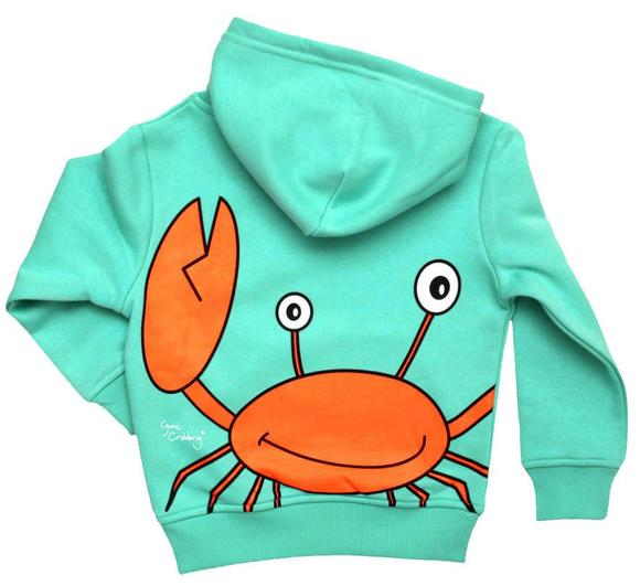 Gone Crabbing Totally Clawsome Hoodie.