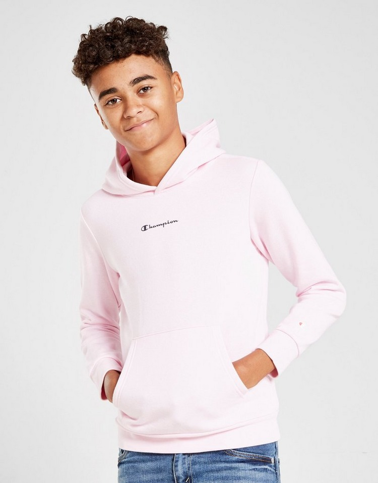 JD Sports Champion Legacy Overhead Fleece Hoodie Junior.