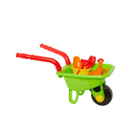 Early Learning Centre Wheelbarrow Set.
