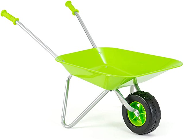 Little Roots Kids Wheelbarrow Gardening Toy.