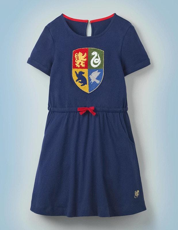 Boden Hogwarts Crest Dress