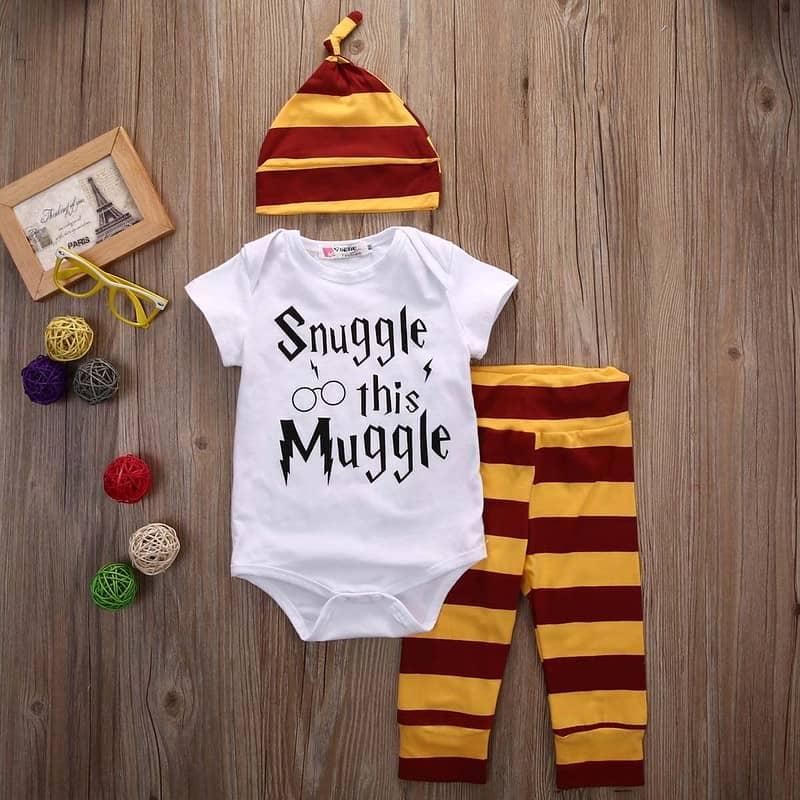 Baby Muggle Romper Set