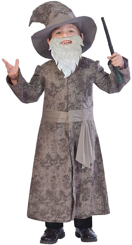 Kids Wizard Outfit With Beard