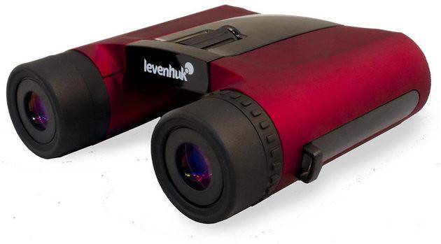 Levenhuk Rainbow 8x25 Red Berry Binoculars.