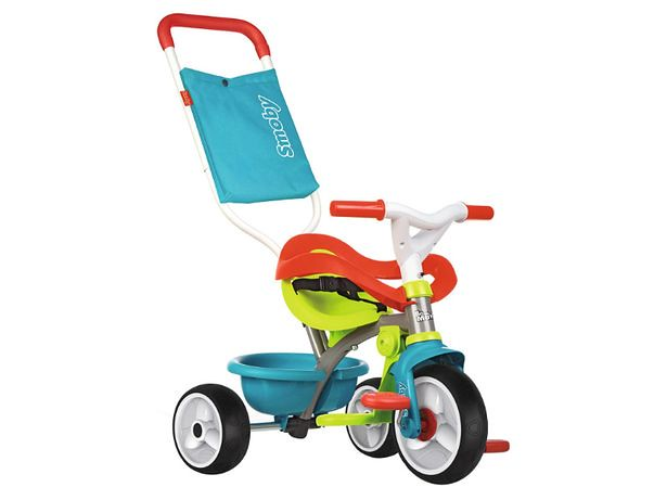 Smoby Be Be Move Baby Trike with Parent Handle.