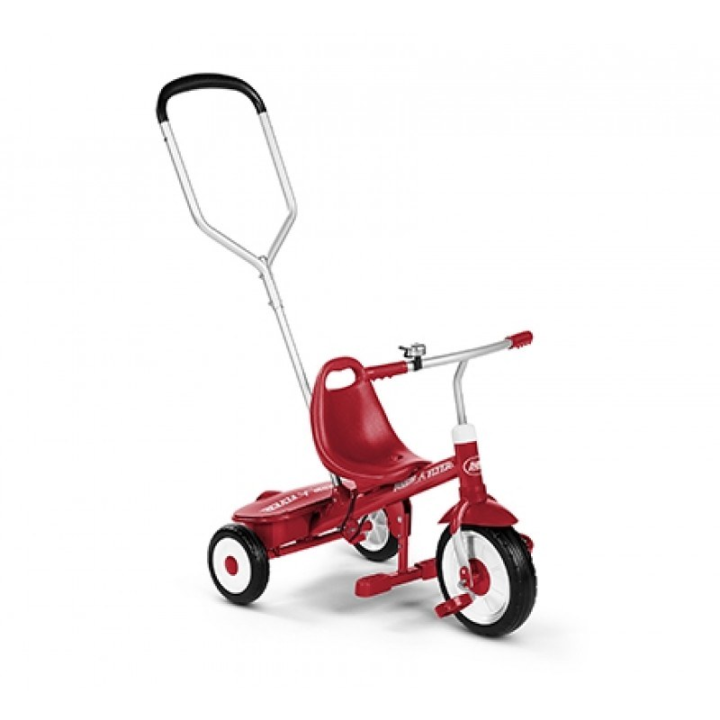 Radio Flyer Steer and Stroll Tricycle‍.
