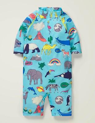 Mini Boden Natural World Surf Suit.
