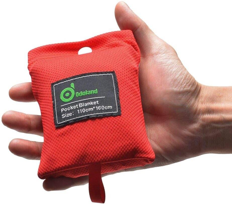 Odoland Pocket Picnic Blanket
