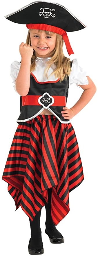 Rubie's Little Lass Pirate Costume.