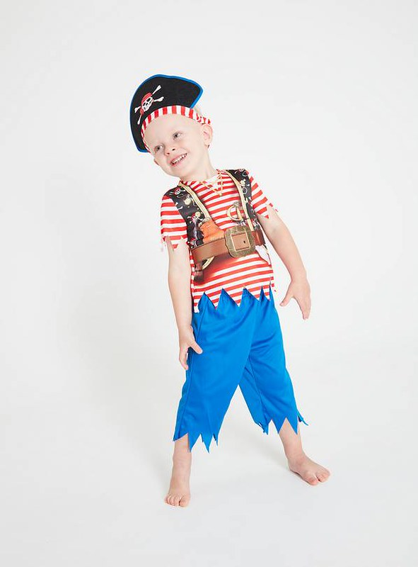 Tu Stripy Pirate Costume.