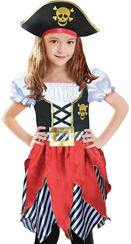 Sincere Party Girls' Pirate Costume.