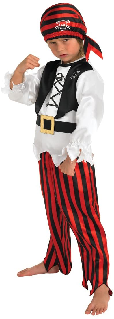 Rubie's Official Children's Raggy Pirate Costume.