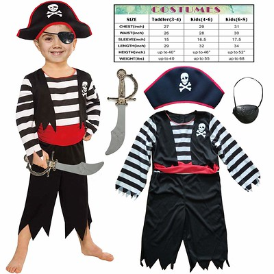 Sincere Party Children's Pirate Costume.