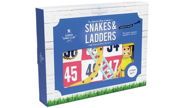 Professor Puzzle Giant Snakes and Ladders Game.
