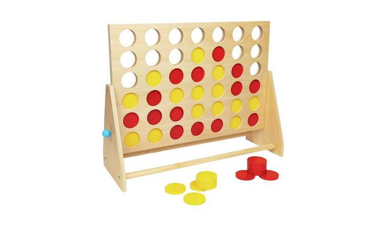 Professor Puzzle Giant 4-In-A-Row Game.