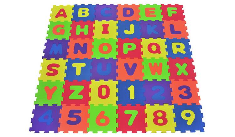 Chad Valley Numbers and Letters Foam Mats.