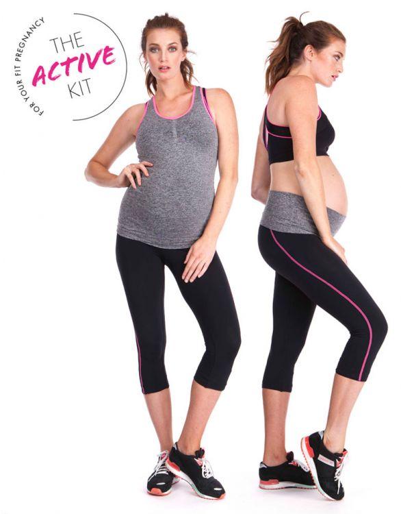 Seraphine The 2 Piece Active Kit, Pregnancy Yoga & Sportswear
