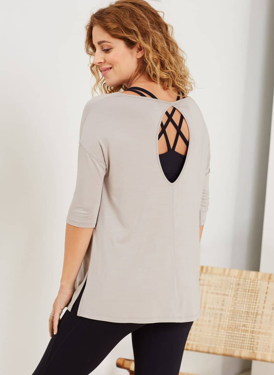 Isabella Oliver The Maternity Yoga Top