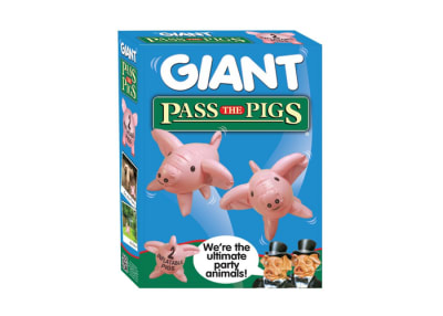 Giant Pass the Pigs Dice Game.