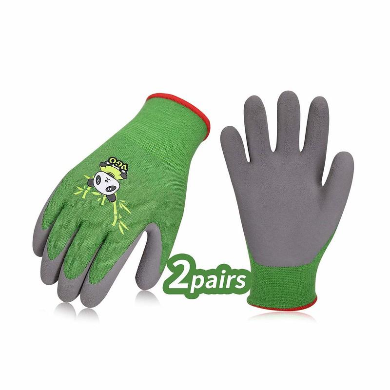 Vgo Bamboo Kids Gardening Gloves.