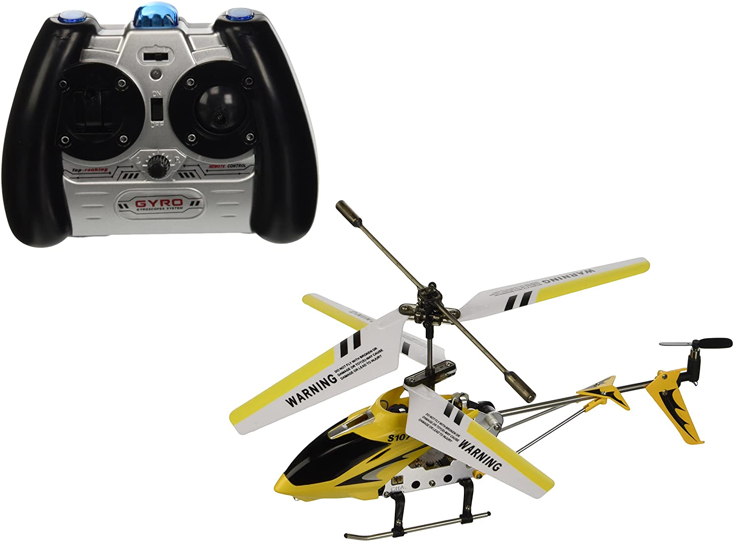 Syma 3 Channel S107 Mini Indoor RC Helicopter
