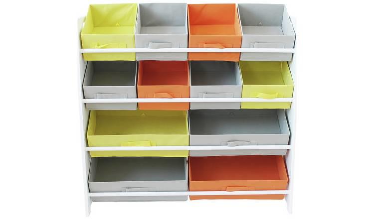 Argos Home 4 Tier Kids Basket Storage Unit.