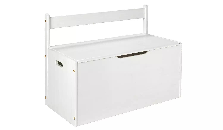 Argos Home Scandinavia White Extra Large Toy Box.